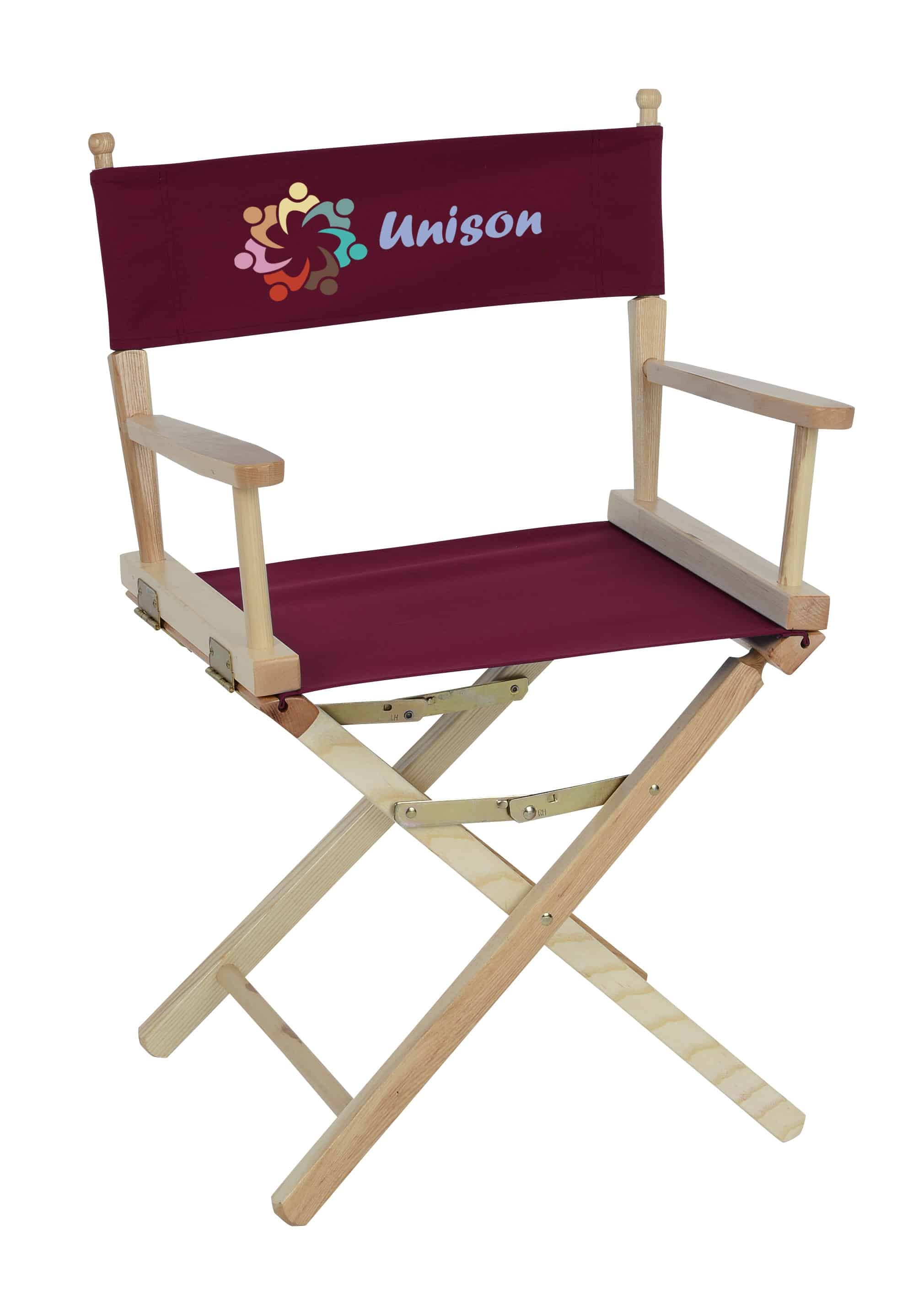 A Director Chair that is table height.