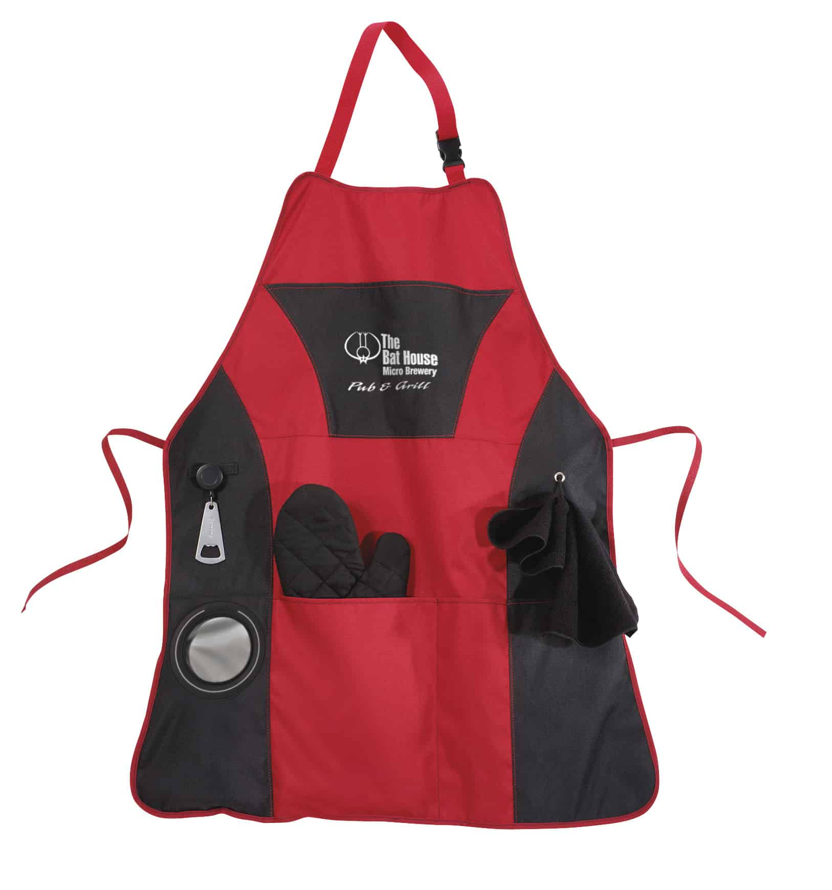 A polyester Grill Master BBQ Apron.