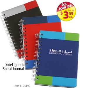 SideLights Spiral Journal #105190