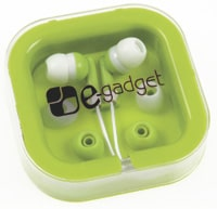 Ear Buds with Interchangeable Covers From 4imprint
