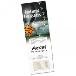 111133 Natural Disasters Pocket Slider | Promotional Products from 4imprint