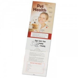 111133 Pet Health Pocket Slider | Promotional Products from 4imprint