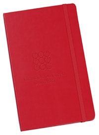Moleskine Hard Cover Notebook From 4imprint