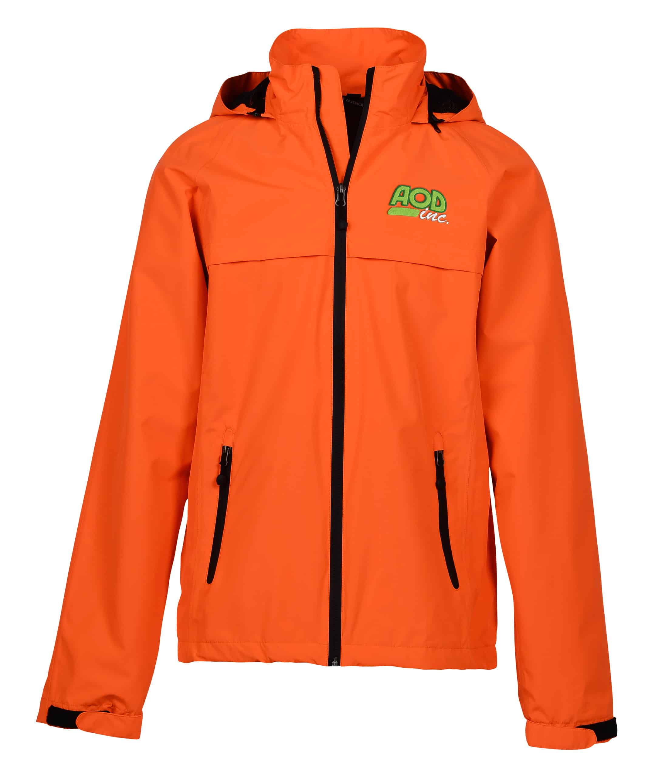 An embroidered Traverse Waterproof Jacket for Men.