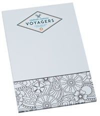 Bic Color-In Notepad From 4imprint