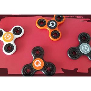 An array of Trio Fidget Spinners.