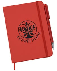 Afton Custom Notebook with Pen From 4imprint