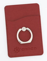 Tuscany Smartphone Wallet with Ring Phone Stand From 4imprint
