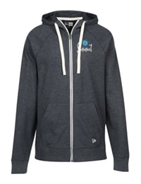 New Era Sueded Cotton Full-Zip Hoodie From 4imprint