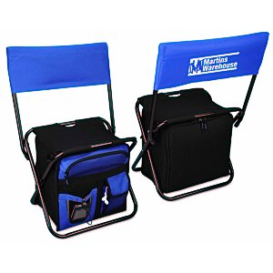 24-Can Cooler Chair with Back Rest | 4imprint picnic giveaways.
