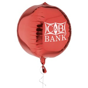 3D Foil Balloon – Orb | Promotional balloons from 4imprint.