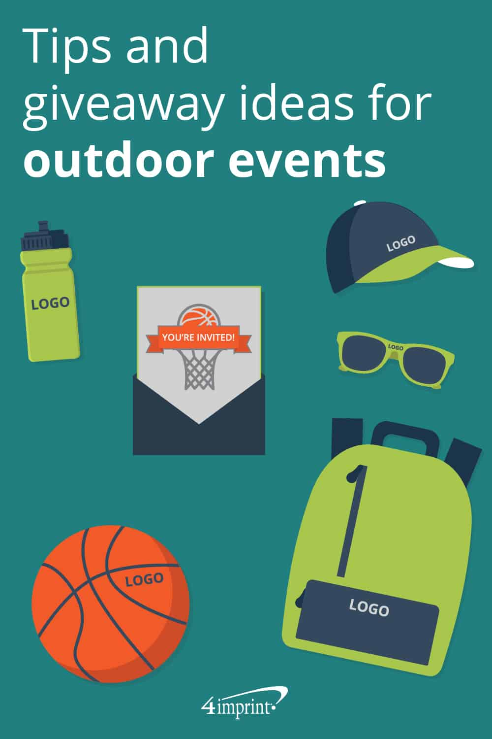 Tips and giveaway ideas for outdoor events