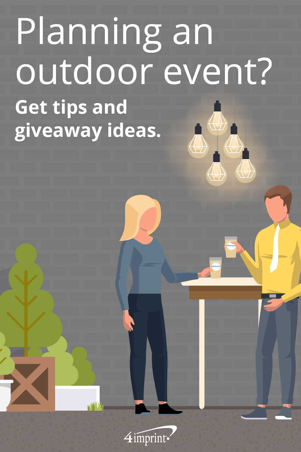 Planning an outdoor event? Get tips and giveaway ideas