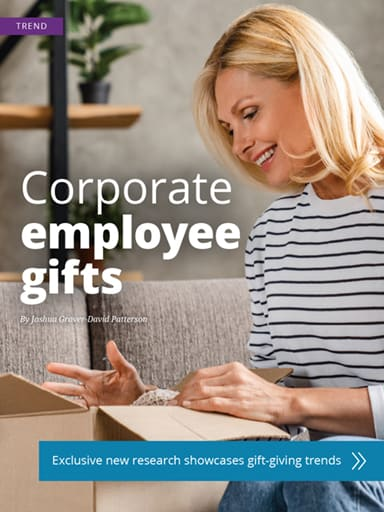thumbnail of trend: corporate employee gifts