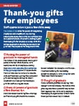 thumbnail of swag master: Thank-you gifts for employees