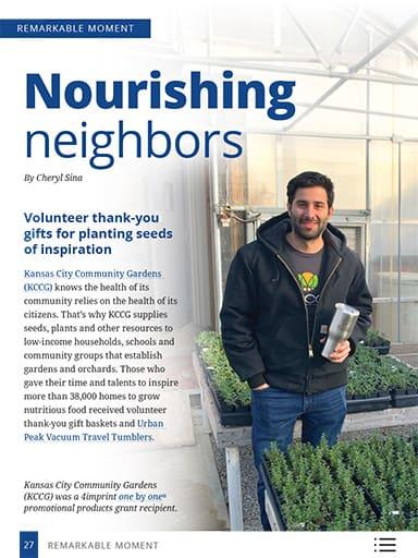 thumbnail of remarkable moments: Nourishing neighbors