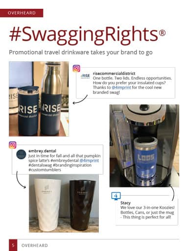 thumbnail of overheard story: Promotional Travel Drinkware