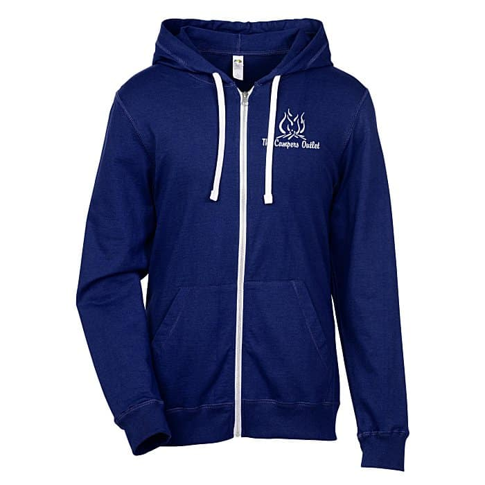 4imprint - Fruit of the Loom Sofspun Jersey Full-Zip Hoodie - trade show promotional items