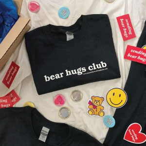 Aiza's Teddybear Foundation Bear Hugs Club volunteer T-shirts.