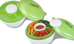 4imprint Salad to Go Imprinted Lunch Box