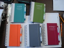 4imprint Spiral Notebook and Pen