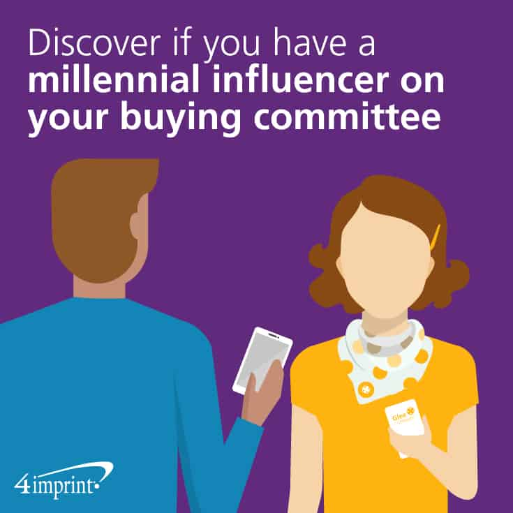 Discover if you have a millennial influencer on your buying committee
