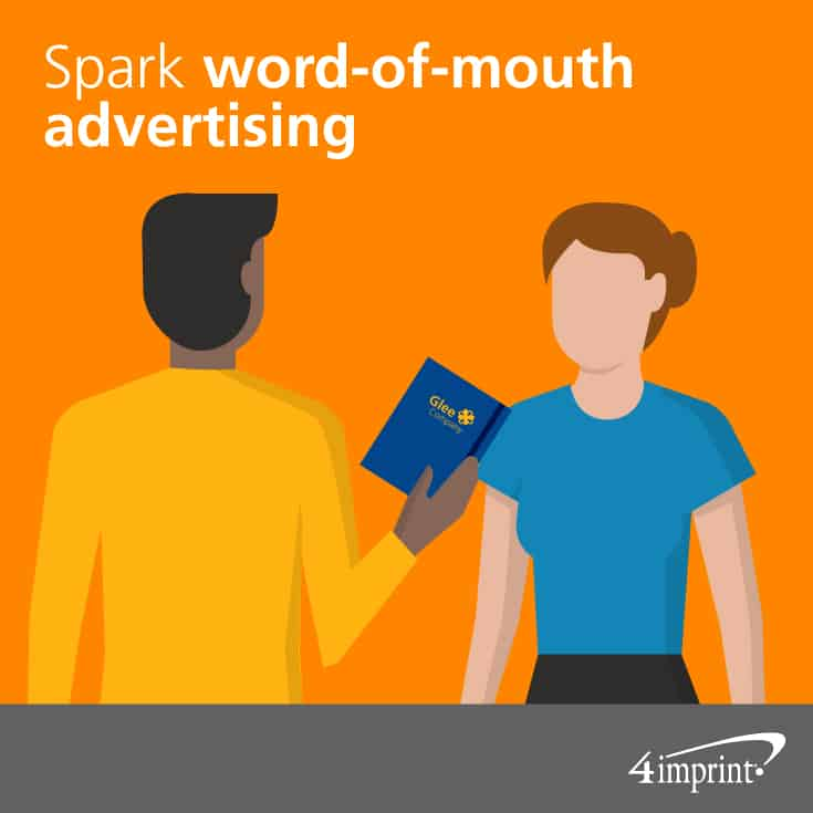 Spark word-of-mouth advertising