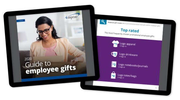 Banner: 2020 Guide to Employee Gifts