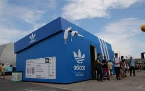 Adidas Popup Shop