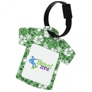 Aloha Hawaiian Shirt Luggage Tag