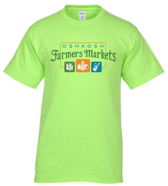 Oshkosh Farmers Market branded t-shirt