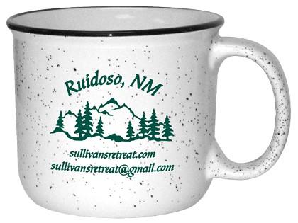 Branded camping mug
