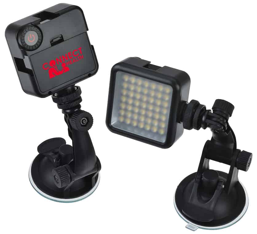Portable light for video conference calls