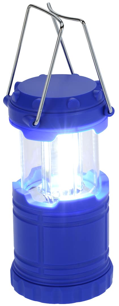 Small battery operated branded lantern