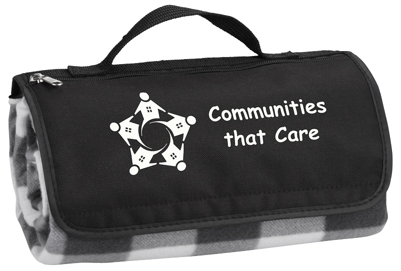 Communities that Care travel picnic blanket