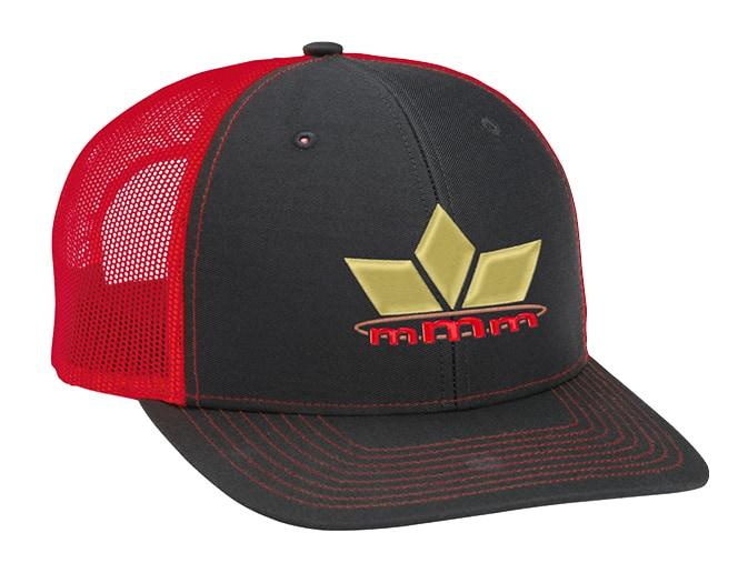branded trucker hat