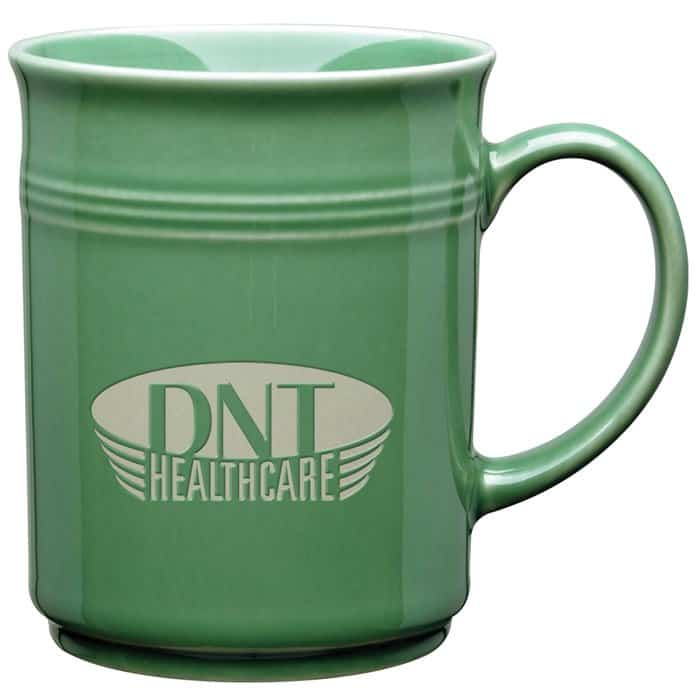 Baristi Ceramic Mugs are terrific corporate holiday gifts.