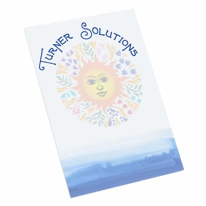 "Bic Non-Adhesive Notepad - 6"" x 4"" - 25 Sheet – Watercolor is one of our unique notepads."