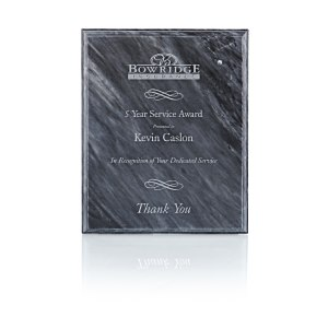 Black Marble Plaque - Custom Awards from 4imprint promotional products