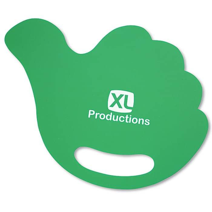 Breezin' Plastic Hand Fan Hand | 4imprint promotional fans