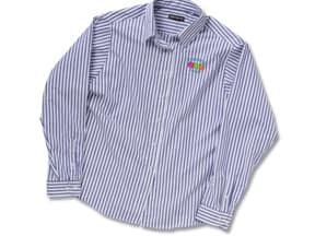 Ladies' Stripe Broadcloth Value Shirt | Promotional Products from 4imprint