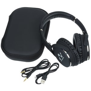 Brookstone® Noise Canceling Bluetooth® Headphones - premium promotional gifts from 4imprint