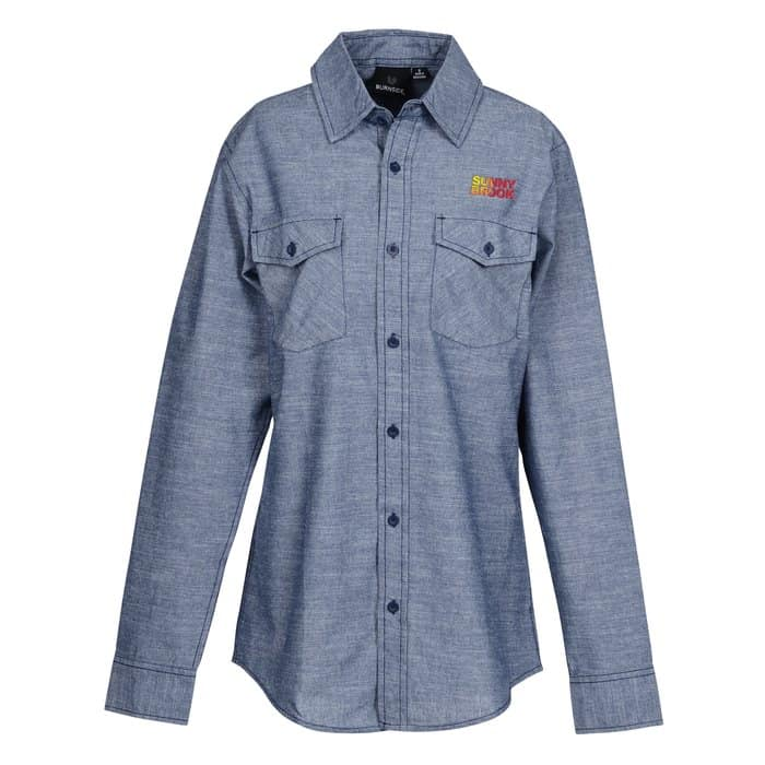 Burnside Chambray Shirt - Ladies' | 4imprint company apparel.
