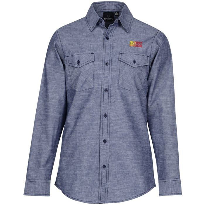 Burnside Chambray Shirt - Men's | 4imprint company apparel.