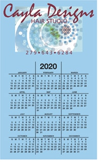 Bic 20 mil Calendar Magnet From 4imprint - Canada