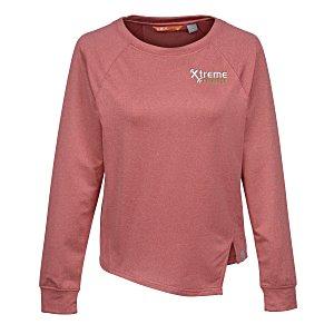 CBUK Jackson Asymmetric Shirt – Ladies | 4imprint athleisure custom branded apparel.
