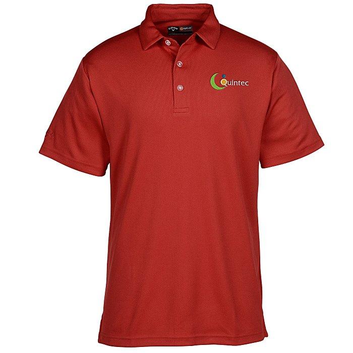 Callaway® Birdseye Polo — Men's | Custom golf gifts from 4imprint