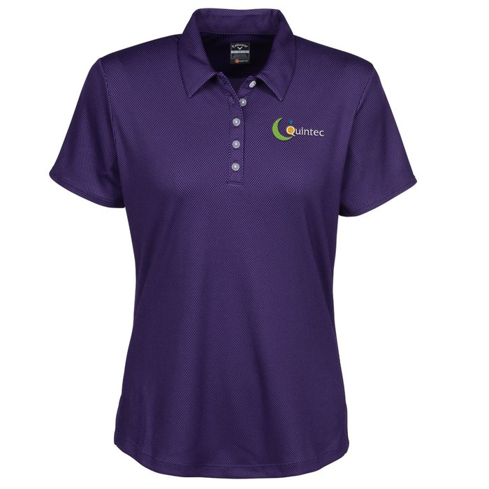 Callaway® Birdseye Polo — Ladies | Custom golf gifts from 4imprint