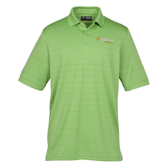 Callaway® Opti-Vent Polo — Men's | 4imprint custom golf gifts