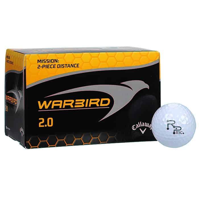 Callaway® Warbird 2.0 Golf Ball - Dozen | 4imprint golf promotional items